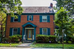 Colonial Home in Tenleytown