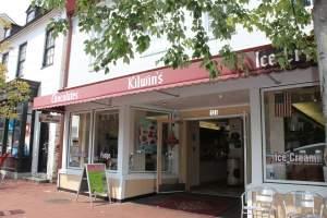 Kilwins Icecream and Chocolates in Annapolis, Maryland