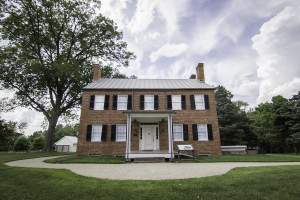 Historic Blenheim House in Fairfax City, VA.