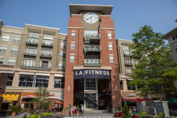 LA Fitness in Pentagon City's Pentagon Row