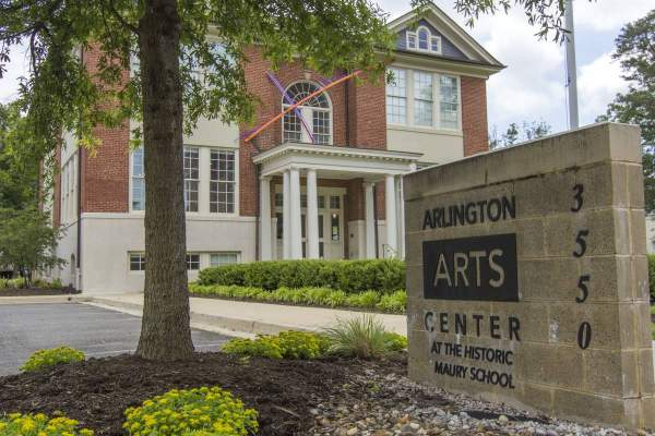Arlington Arts Center in Ashton Heights, VA.
