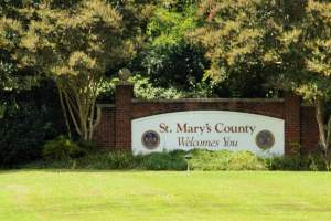 St. Mary''s Welcome SIgn