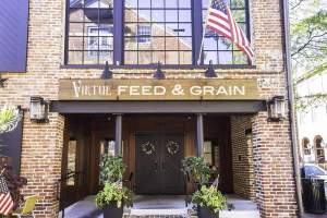 Virtue Feed and Grain Tavern in Old Town Alexandria,VA
