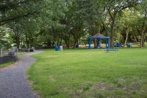 Oakgrove Park in Arlington's Cherrydale Neighborhood.